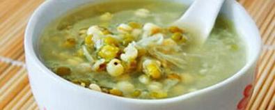 绿豆汤虽解暑 注意这几类人多喝有害